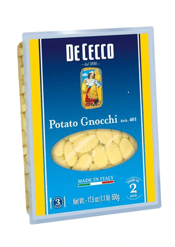 Potato Gnocchi, by De Cecco 1.1 lb - [Premium Italian Food at Home ]