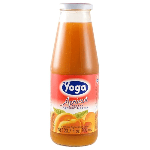 Apricot Nectar by Yoga - 23.7 fl oz (700 Ml) - [Premium Italian Food at Home ]