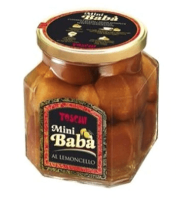 Baba in Lemoncello Jar, by Toschi 14.11 oz - [Premium Italian Food at Home ]