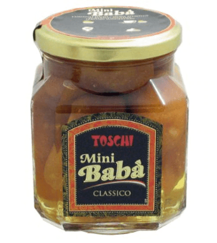 Toschi Baba in Rum Jars, by Toschi 14.11 oz - [Premium Italian Food at Home ]