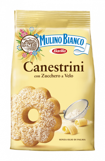 Canestrini, by Mulino Bianco -  (200 Gr) - [Premium Italian Food at Home ]