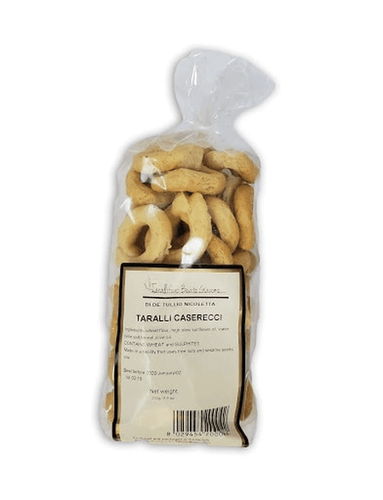 Taralli with Caserecci by Beato Giacomo, 250 grams - [Premium Italian Food at Home ]