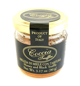 Coccia Black Truffle Honey 90gr - [Premium Italian Food at Home ]