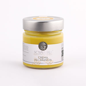 Orange Cream Spread, by Scyavuru 6.3 oz - [Premium Italian Food at Home ]