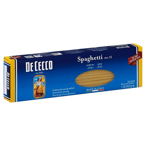Spaghetti Pasta no. 12 by De Cecco - 1 lb - [Premium Italian Food at Home ]