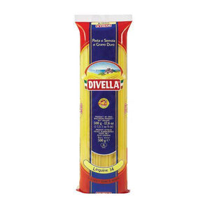 Linguine Pasta No. 14, by Divella 1 lb - [Premium Italian Food at Home ]