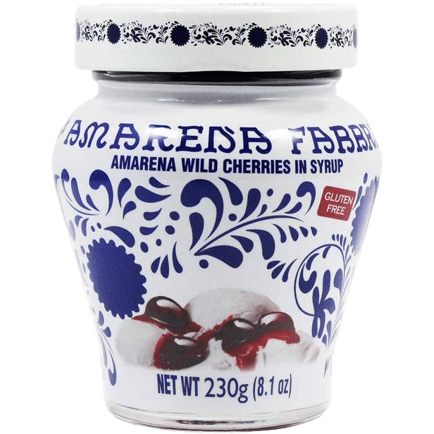 Amarena Wild Cherries in Syrup by Fabbri - 21oz - [Premium Italian Food at Home ]