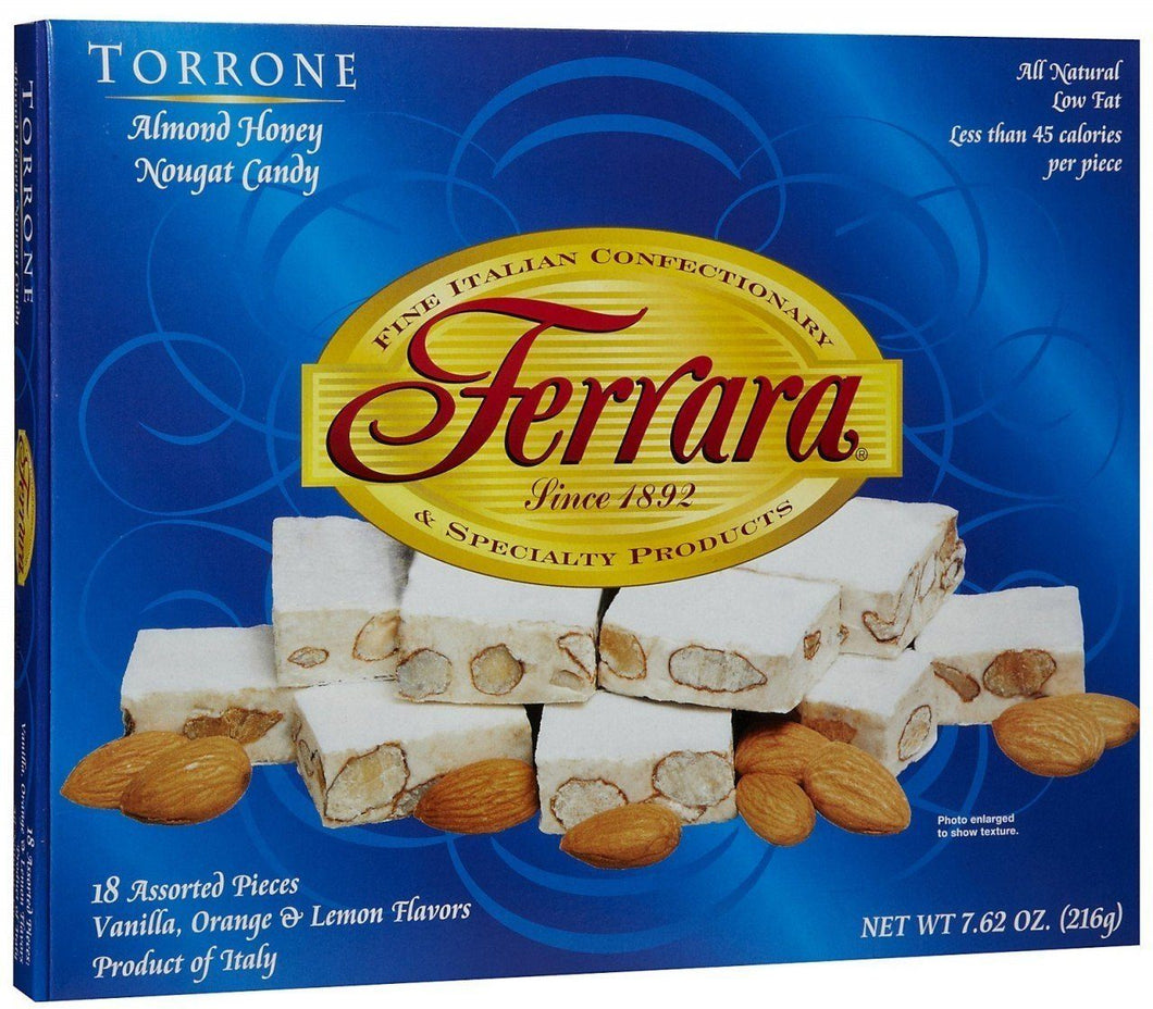 Ferrara Assorted Torrone, 7.62 oz
