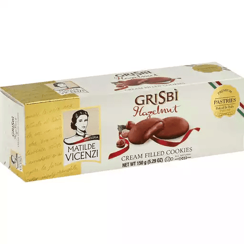 Grisbi Cookies Halzenut by Vicenzi 5.29oz - [Premium Italian Food at Home ]