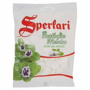 Sperlari Pastiglia Menta (Mint Pastilles), 6.17 oz - [Premium Italian Food at Home ]