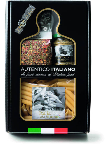 Truffle and Piccantissimo Pasta Kit Autentico Italiano, By Antico Pastificio Umbro 3pc - [Premium Italian Food at Home ]
