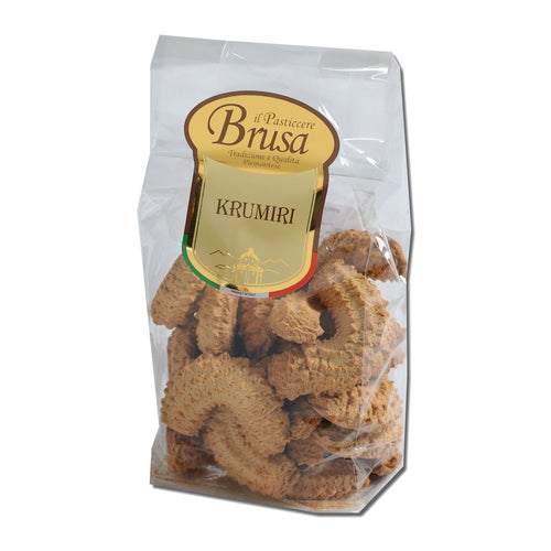 Pasta di Meliga Biscuits by Brusa 10.58oz - [Premium Italian Food at Home ]