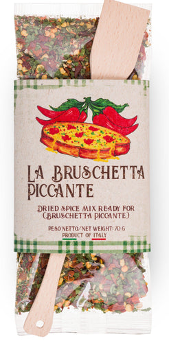 Ready Spice-Mix for Bruschetta Piccante by Casarecci di Calabria - 2.46 oz.  Caserecci di Calabria - [Premium Italian Food at Home ]