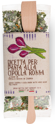 Ready Mix for Pasta alla Cipolla Rossa di Tropea by Casarecci di Calabria- 2.46 oz. - [Premium Italian Food at Home ]