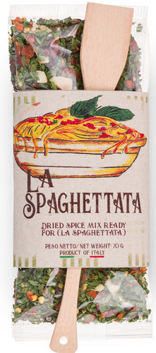 Ready Spice-Mix for Pasta la Spaghettata by Casarecci di Calabria - 2.46 oz.  Caserecci di Calabria - [Premium Italian Food at Home ]