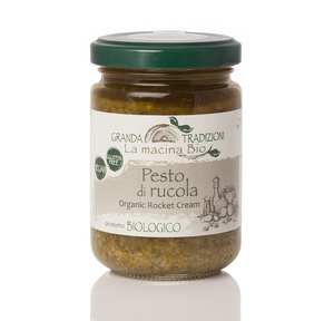 Organic Rocket Cream, by Granda Tradizioni 4.6 oz - [Premium Italian Food at Home ]