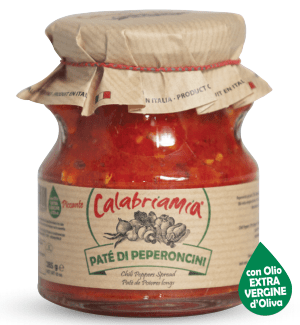 Red Calabrian Chili Pepper Spread, by CalabriaMia - 10 oz - [Premium Italian Food at Home ]