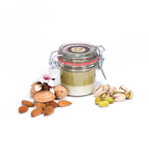 Pistacchio and Almond Cream Spread, by Scyavuru 6.3 oz - [Premium Italian Food at Home ]