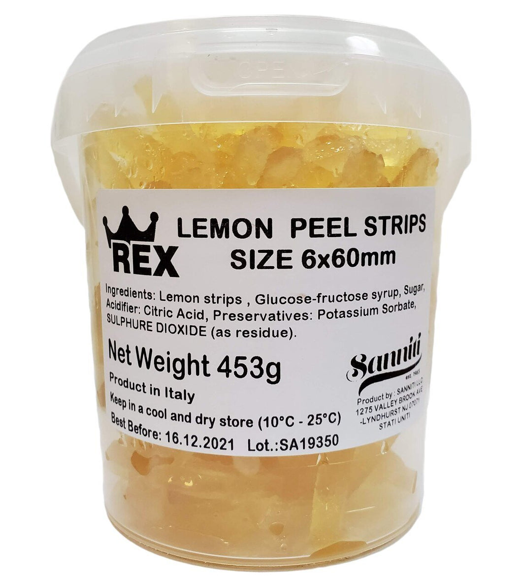 Candied Lemon Strips, by Rex 1 lb