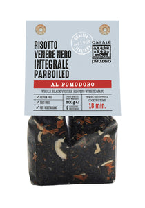 Whole Black Venere Risotto with Tomatoes, By Casale Paradiso 10.58 oz