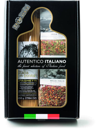 Ready Spice MIx Garlic Chili and Piccantissimo Pasta Kit Autentico Italiano, By Antico Pastificio Umbro 3pc - [Premium Italian Food at Home ]