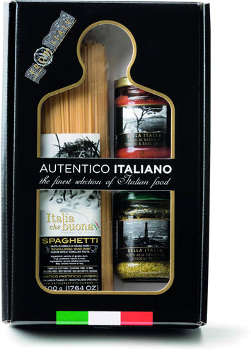 Genovese Basil Pesto and Tomatoes Basil Sauce Pasta Kit Autentico Italiano, By Antico Pastificio Umbro 3pc - [Premium Italian Food at Home ]