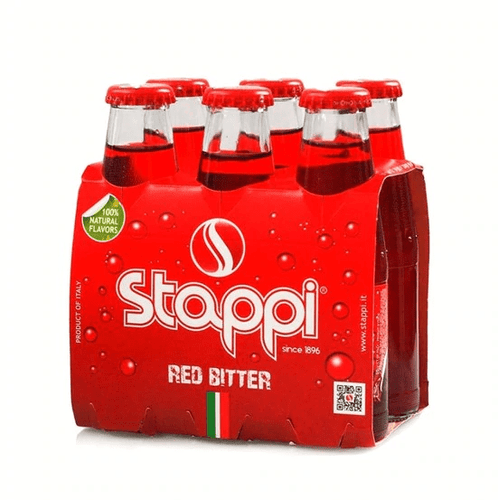 Red Bitter by Stappi  6 x 100mL - [Premium Italian Food at Home ]