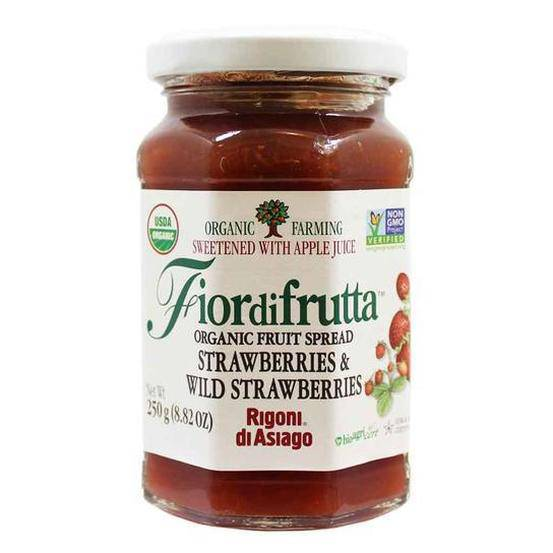 Strawberry Fruit Spread -by Rigoni di Asiago  8.8 oz - [Premium Italian Food at Home ]