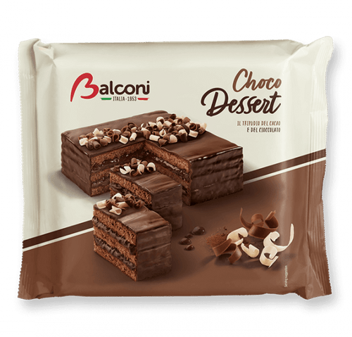 Torta Choco Dessert, by  Balconi  (400gr) - [Premium Italian Food at Home ]
