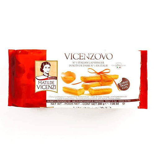 Italian Ladyfingers Vicenzovo by Vicenzi - 7oz - [Premium Italian Food at Home ]
