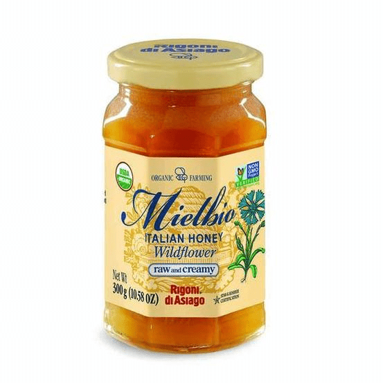 Italian Organic Wildflower Honey - by Rigoni di Asiago 10.5 oz - [Premium Italian Food at Home ]