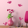 Bird Wall Decals - Set of 4