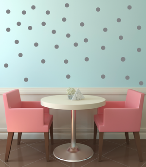 "2.5"" Polka Dot Wall Decals"
