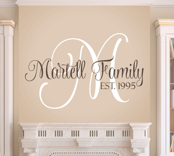 family wall decal set