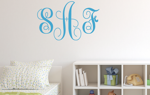Beautiful Monogram Decal