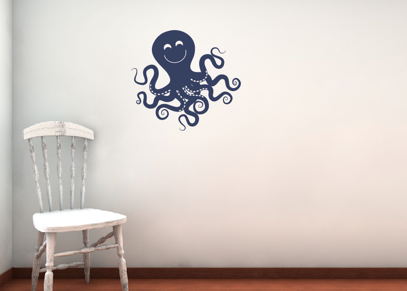 Octopus Wall Decal; Octopus Wall Decal ...