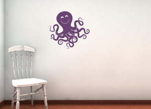 Octopus Wall Decal