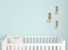 Seahorse Wall Decal Set - Set of 3