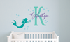 Mermaid Name Decal Set