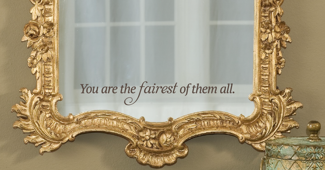you are the fairest vinyl decal