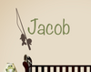 Fishing Name Decal Set