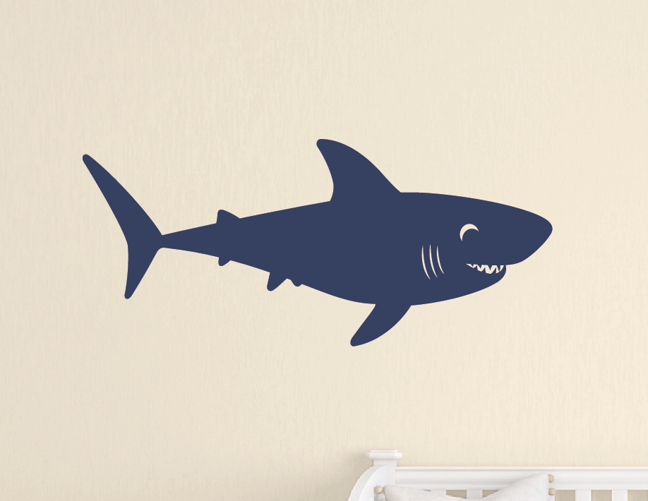 ... Shark Wall Decal   Sea Ocean Friends ...