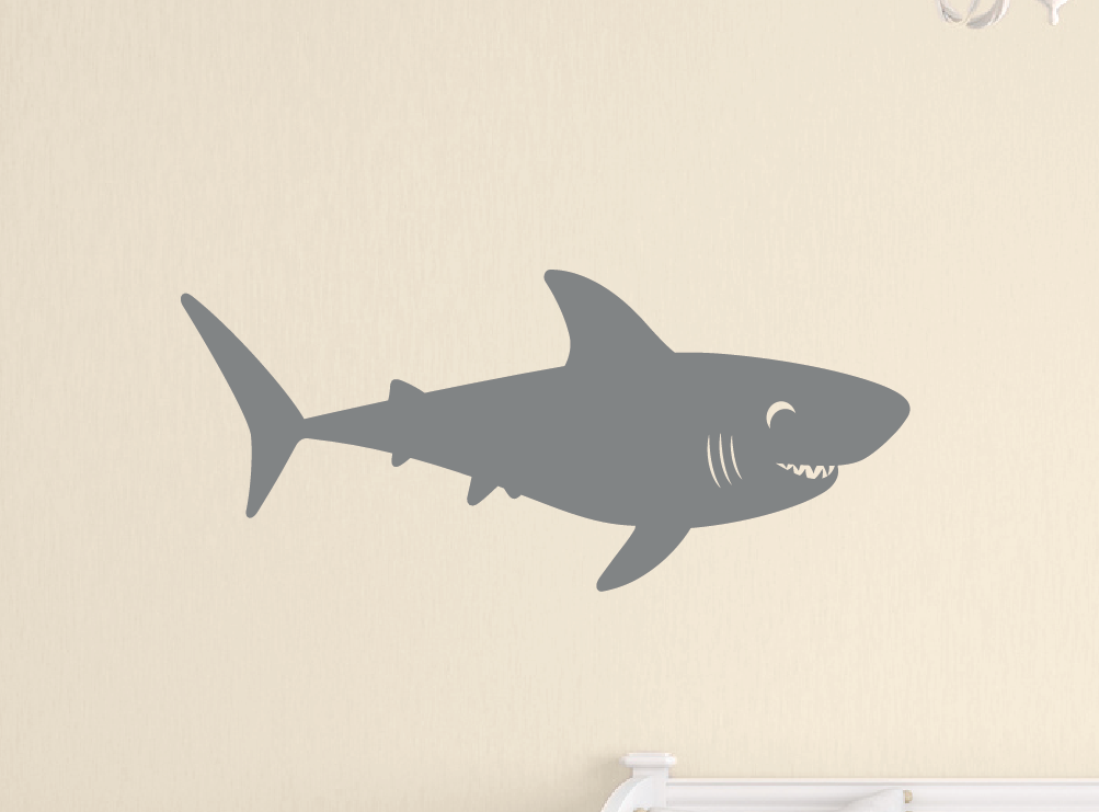 Shark Wall Decal - Sea Ocean Friends