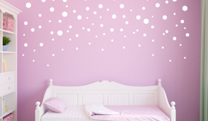 White Polka Dots_Mixed Sizes