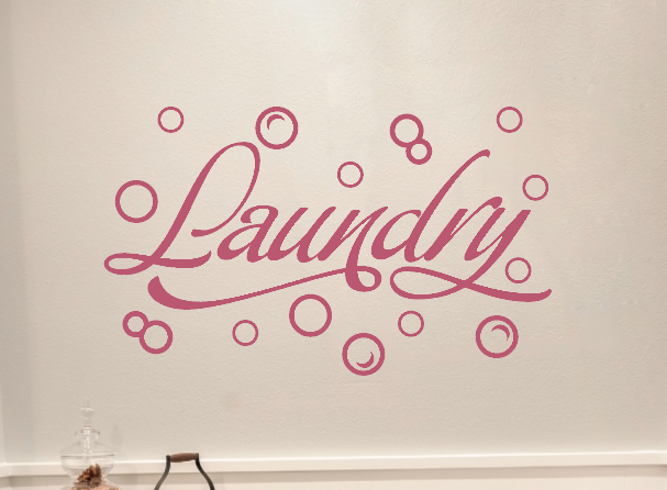 Sale! Laundry with Bubbles in Lipstick