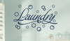 Sale! Laundry with Bubbles in Navy Blue