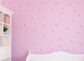 Sprinkle Wall Stickers, Easy Peel & Stick, Set of 108