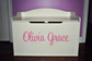 Personalized Name Decal for Toy Boxes