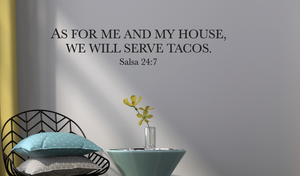 We will serve Tacos Black