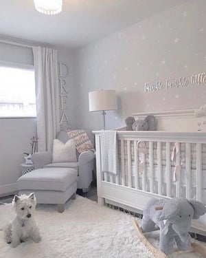 Star Wall Decals, Nursery Wall Decor